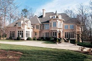 Dream House Plan - European Exterior - Front Elevation Plan #119-241