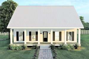 Farmhouse Exterior - Front Elevation Plan #44-233
