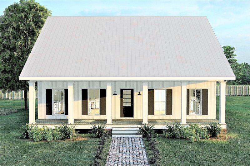 Farmhouse Exterior - Front Elevation Plan #44-233