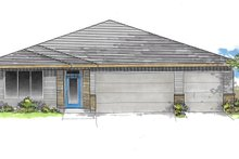 Craftsman Exterior - Front Elevation Plan #53-641
