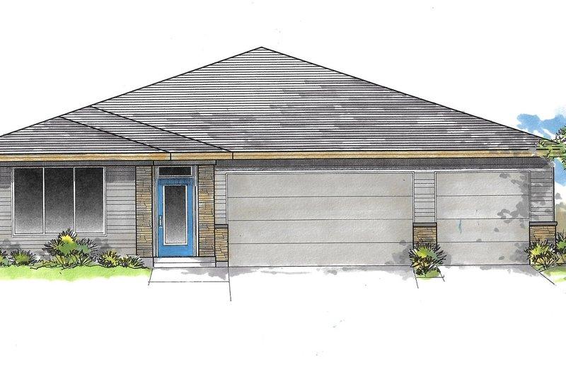 House Plan Design - Craftsman Exterior - Front Elevation Plan #53-641