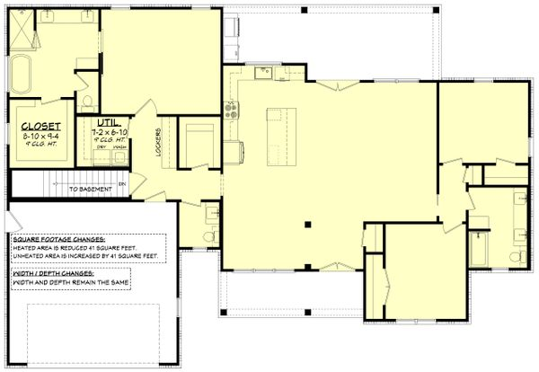 House Blueprint - Farmhouse Floor Plan - Other Floor Plan #430-245