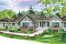 Home Plan - Craftsman Exterior - Front Elevation Plan #124-754
