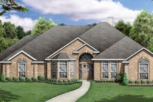 Dream House Plan - Traditional Exterior - Other Elevation Plan #84-237