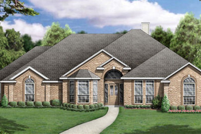 Traditional Exterior - Other Elevation Plan #84-237 - Houseplans.com