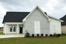 Home Plan - Cottage Exterior - Front Elevation Plan #406-9657