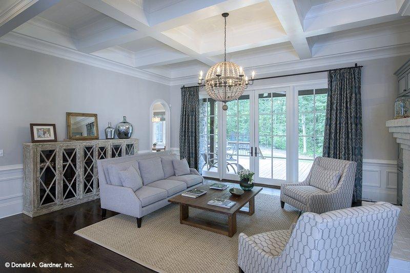 European Interior - Family Room Plan #929-855 - Houseplans.com