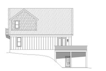 Country Exterior - Rear Elevation Plan #932-204