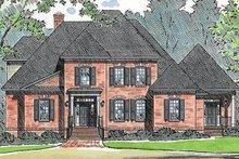 House Plan Design - European Exterior - Front Elevation Plan #1054-44