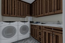 Architectural House Design - Traditional Interior - Laundry Plan #1060-59