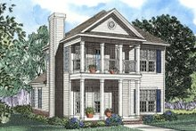 House Plan Design - Southern Exterior - Front Elevation Plan #17-2032
