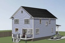 Dream House Plan - Country Exterior - Other Elevation Plan #79-263