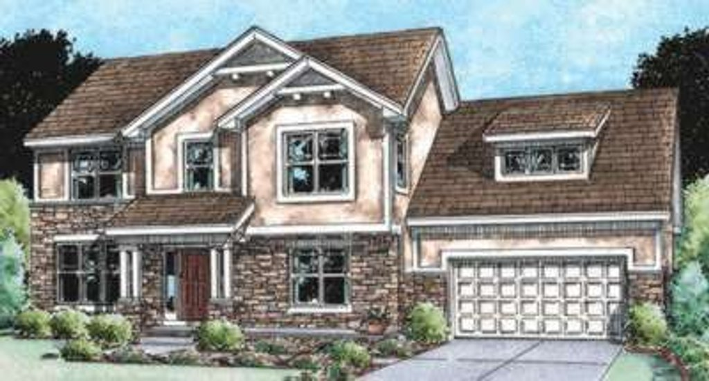Traditional Exterior - Front Elevation Plan #20-1797