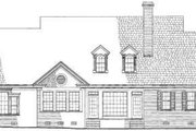 Colonial Style House Plan - 5 Beds 3 Baths 4063 Sq/Ft Plan #137-228 Exterior - Rear Elevation