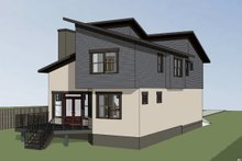 Modern Exterior - Other Elevation Plan #79-300