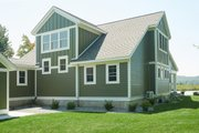 Bungalow Style House Plan - 3 Beds 2.5 Baths 2904 Sq/Ft Plan #928-330 Exterior - Other Elevation