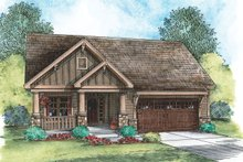 Architectural House Design - Craftsman Exterior - Front Elevation Plan #20-2269