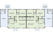 Traditional Style House Plan - 2 Beds 1 Baths 852 Sq/Ft Plan #17-2403 Floor Plan - Main Floor