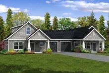 Home Plan - Cottage Exterior - Front Elevation Plan #124-1080
