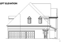 Dream House Plan - European Exterior - Other Elevation Plan #119-215