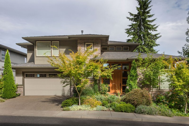 House Plan Design - Prairie Exterior - Front Elevation Plan #48-245