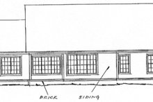 Farmhouse Exterior - Rear Elevation Plan #20-362