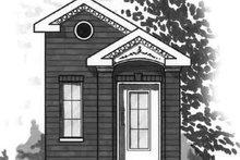 Dream House Plan - Cottage Exterior - Front Elevation Plan #23-468