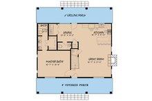 Country Floor Plan - Main Floor Plan Plan #923-40