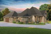 Cottage Style House Plan - 4 Beds 2.5 Baths 2298 Sq/Ft Plan #406-9654 Exterior - Other Elevation