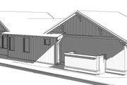 Craftsman Style House Plan - 3 Beds 2 Baths 1576 Sq/Ft Plan #895-99