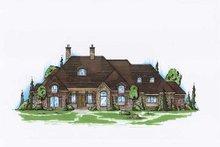 Home Plan - European Exterior - Front Elevation Plan #5-319