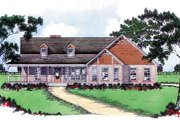 Southern Style House Plan - 3 Beds 2.5 Baths 2103 Sq/Ft Plan #36-339 Exterior - Front Elevation
