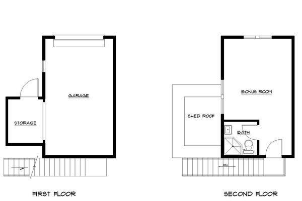 Traditional Floor Plan - Other Floor Plan Plan #922-3