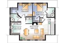 Country Floor Plan - Upper Floor Plan Plan #23-623