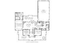 Country Floor Plan - Main Floor Plan Plan #11-121