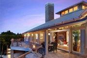 Beach Style House Plan - 3 Beds 4 Baths 4521 Sq/Ft Plan #548-10