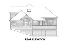 Dream House Plan - Traditional Exterior - Rear Elevation Plan #48-327