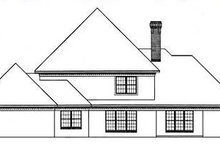 Southern Exterior - Rear Elevation Plan #45-151