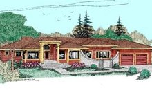 House Plan Design - Traditional Exterior - Front Elevation Plan #60-382