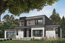 Modern Exterior - Front Elevation Plan #23-2310