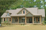 Country Style House Plan - 4 Beds 3 Baths 2565 Sq/Ft Plan #63-271 Exterior - Front Elevation