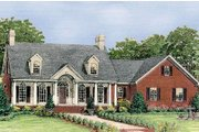 Colonial Style House Plan - 3 Beds 2.5 Baths 2286 Sq/Ft Plan #406-141