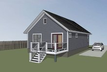 Dream House Plan - Cottage Exterior - Other Elevation Plan #79-111