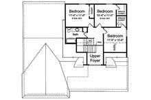 Craftsman Floor Plan - Upper Floor Plan Plan #46-494