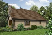 Cottage Style House Plan - 2 Beds 1 Baths 782 Sq/Ft Plan #48-653 Exterior - Front Elevation
