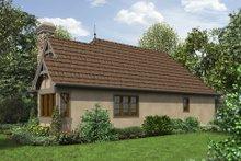 Cottage Exterior - Front Elevation Plan #48-653