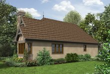 House Plan Design - Cottage Exterior - Front Elevation Plan #48-653