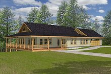 Traditional Exterior - Front Elevation Plan #117-167