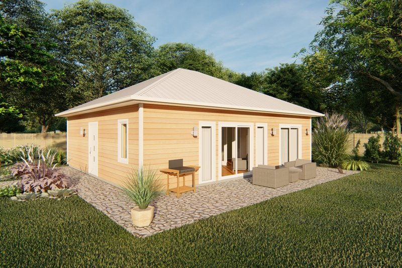 House Plan Design - Contemporary Exterior - Front Elevation Plan #126-177