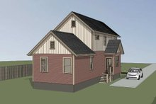 Home Plan Design - Country Exterior - Other Elevation Plan #79-203
